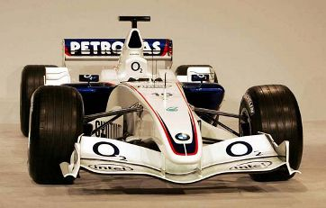 Afbeelding: F-1 BMW Williams Cosworth FW28, 2005-2006