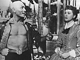 Afbeelding: Yul Brynner als 'The King' in The King and I 1956 (z/w versie)