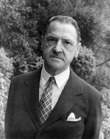 Image: William Somerset Maugham (1874-1965) in 1934