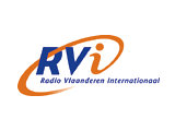 Afbeelding: RVI Radio Vlaanderen Internationaal logo