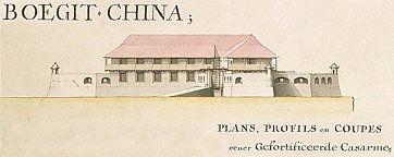 Afbeelding: Boegit China (Bukit Cina), The Sultans Well / Perigi Raja - Plans, profils en coupes eener gefortificeerde casarme
